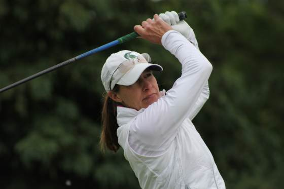 Stacy Slobodnik-Stoll of Haslett  won the women's division of the GAM Tournament of Champions