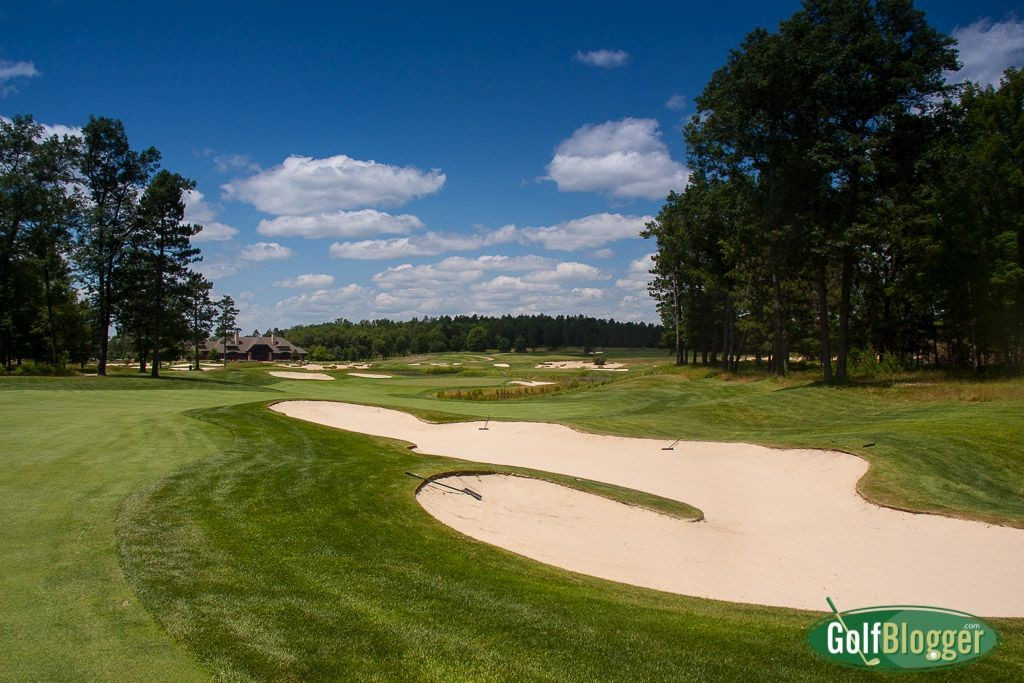 Forest Dunes Eighth Hole Approach
