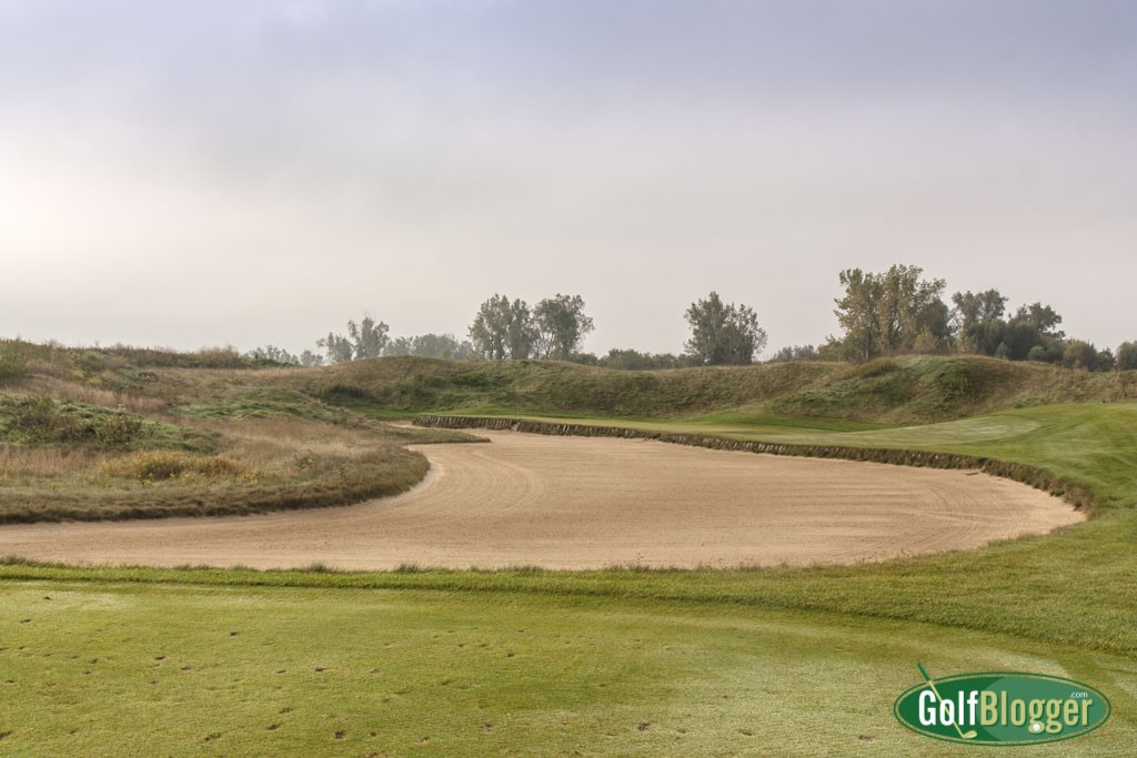 The second at Eagle Eye is a 130 yard par 3.