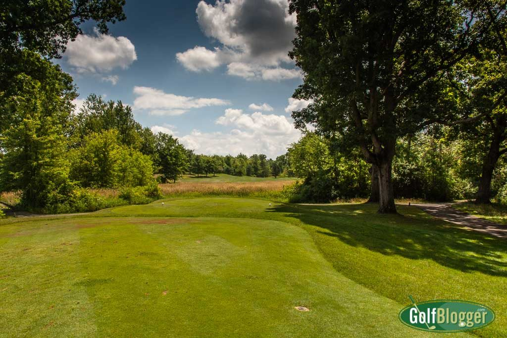 The tenth at Cattails is a 499 yard par 5.