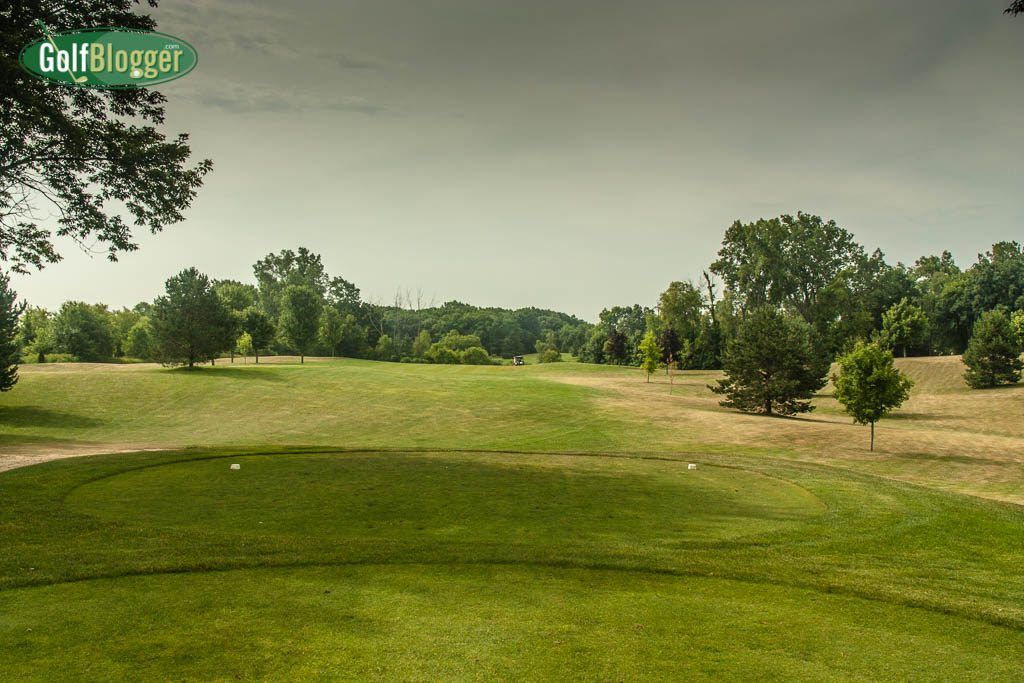 The seventeenth at Devil's Lake is a 477 yard par 5