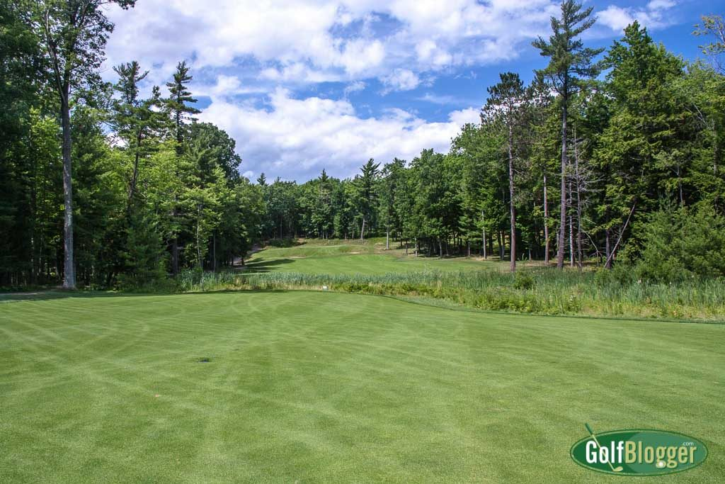 A view from the Fairway of the 16th at Red Hawk