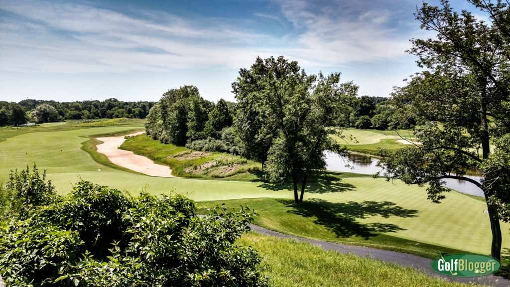 A view of the finishing holes of The River and The Meadows at Blackwolf Run.