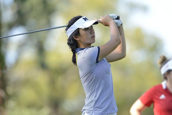 Ashley Kim, University of Michigan freshman, receives a sponsors exemption to the 2018 LPGA Volvik Championship