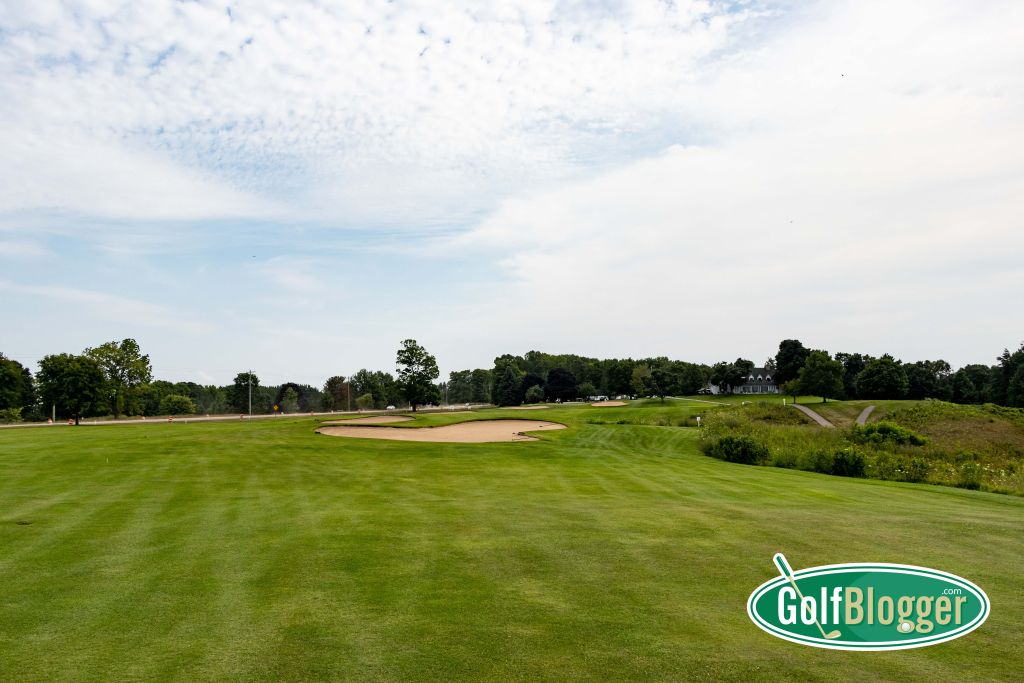 The par five ninth at Belvedere is my favorite hole on the course.