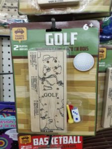 Golf Is Everywhere: Dollar Store Edition