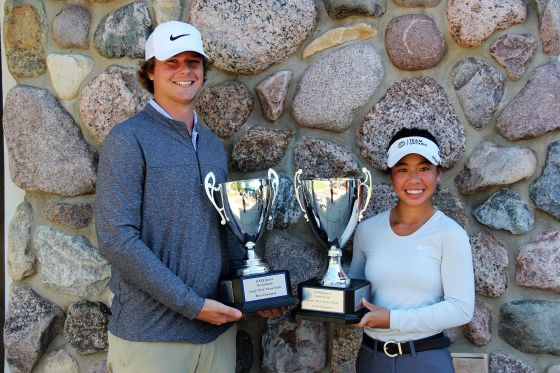 Bradley Smithson of Grand Rapids, Jasmine Ly of Windsor Win GAM Junior Invitational Titles