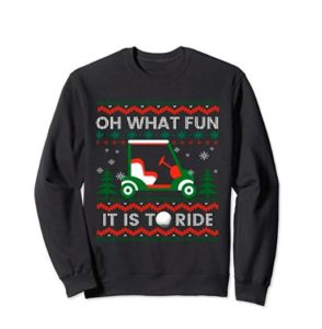 Oh What Fun Ugly Christmas Sweater